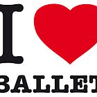 I ♥ BALLET by eyesblau