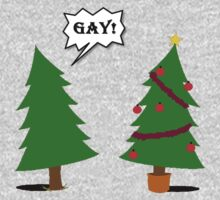 GAY CHRISTMAS TREE by than0s21