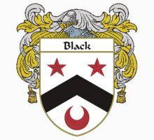 Black Coat of Arms/Family Crest by William Martin