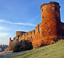 Bothwell Castle in Spring by Escocia Photography