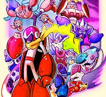 Mega Man 3 - Blues Traveler  by Rikyo