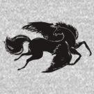 Black Pegasus by Sylke Gande