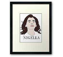 Nigella Lawson Framed Print