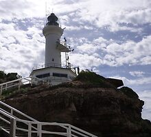 Point Lonsdale Lighthouse, Victoria. Aust. by Rita Blom