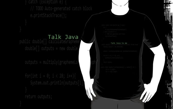 Talk Java to me by CyberspacePunk
