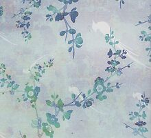 Worn Floral Pattern #3 by alicejaimie