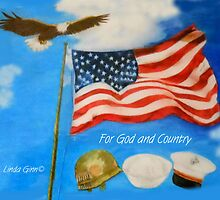 For God and Country by Linda Ginn Art