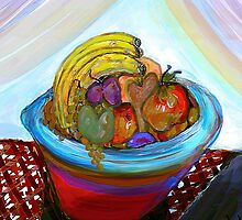 Bowl of fruit II by PicturesPVM