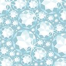 Sparkling diamonds pattern by oksancia