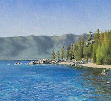 Chimney Beach Plein-air Study by seidai