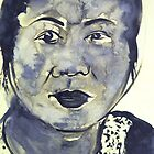 Vietnamese Woman by Christopher  Raggatt
