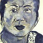 Vietnamese Woman by Christopher  Raggatt