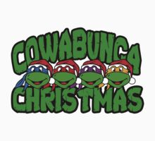 cowabunga christmas Kids Clothes