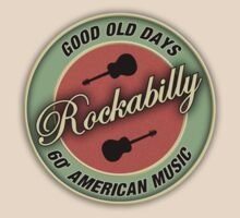 Rockabilly 60's Good Old Days  decoration Clothing & Stickers by goodmusic