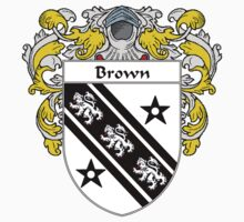 Brown Coat of Arms/Family Crest by William Martin