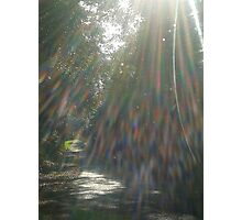"""""""Refraction of Light"""" Photographic Print"""