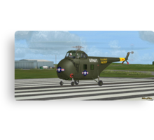 Sikorsky H-19 Chickasaw Canvas Print