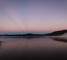 Lake sunrise by Brent Randall