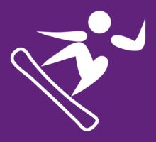 Snowboarding Icon by cadellin