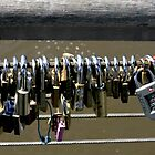 Love locked together by Trevor Corran