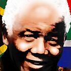 Nelson Mandela Madiba by BluedarkArt