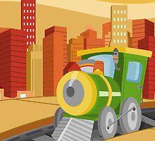 Train (Ground Vehicles) by alapapaju