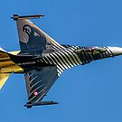 TUSAS-GD F-16C Fighting Falcon 91-0011 by Colin Smedley