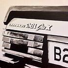 Mk.2 Ford Granada 2.8i Ghia X by sidfox
