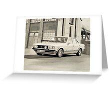 'The Sweeney' Mk.2 Ford Granada 2.8iS Greeting Card