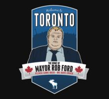 Rob Ford- Toronto by Rob DelZotto