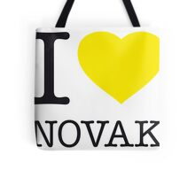 I ♥ NOVAK Tote Bag