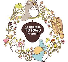 My Neighbour Totoro by Steph Hodges
