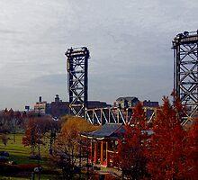 Chicago - Vertical Lift Bridge by Greg Thiemeyer