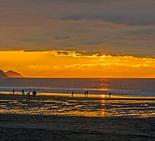 Widemouth Bay Sunset by Chris Thaxter