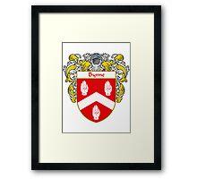 Byrne Coat of Arms/Family Crest Framed Print