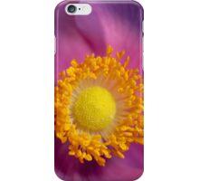 Pink Anemone flower iPhone Case/Skin