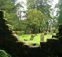 Family Chapel Graveyard, Scone Palace by lezvee