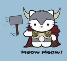 Meow Meow II Kitty Thor by frestyl