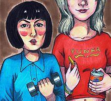 Spam & Punka by Cloverswine