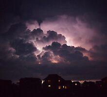Lightning on the Sound by KayZeg