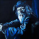 Albus Dumbledore  by iszi