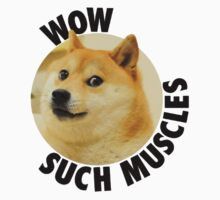 Doge- Such Muscles by Rob DelZotto