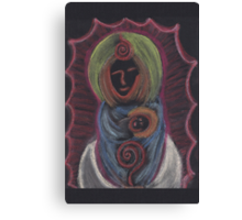 Goddess - Mary with child Canvas Print