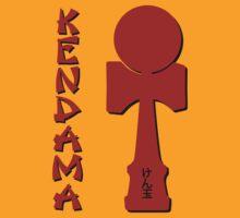 Kendama, EnglishJapanese, red by gotmoxy