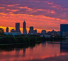 Indianapolis Sunrise by DavidHaskett