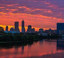 Indianapolis Sunrise by DavidHaskett