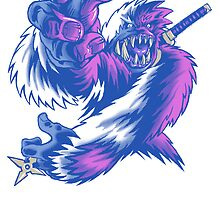 Just the Ninja Yeti by cs3ink