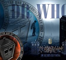 DR WHO - 50th Anniversary by STUDIO 88 STRATFORD TARANAKI NZ