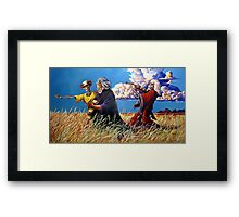 The Road Goes On Framed Print