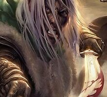 Drizzt Do'Urden Phone Case by GRZZ82